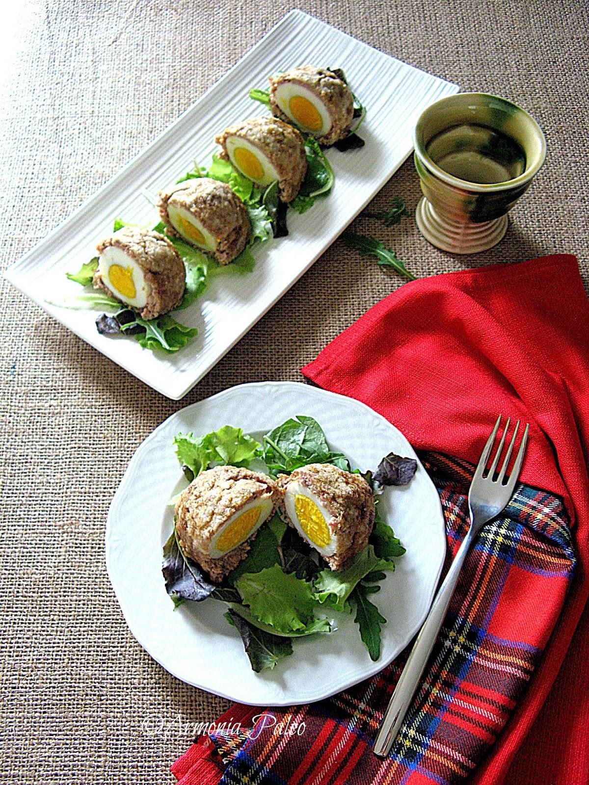 Scotch Eggs - Uova Scozzesi di Armonia Paleo