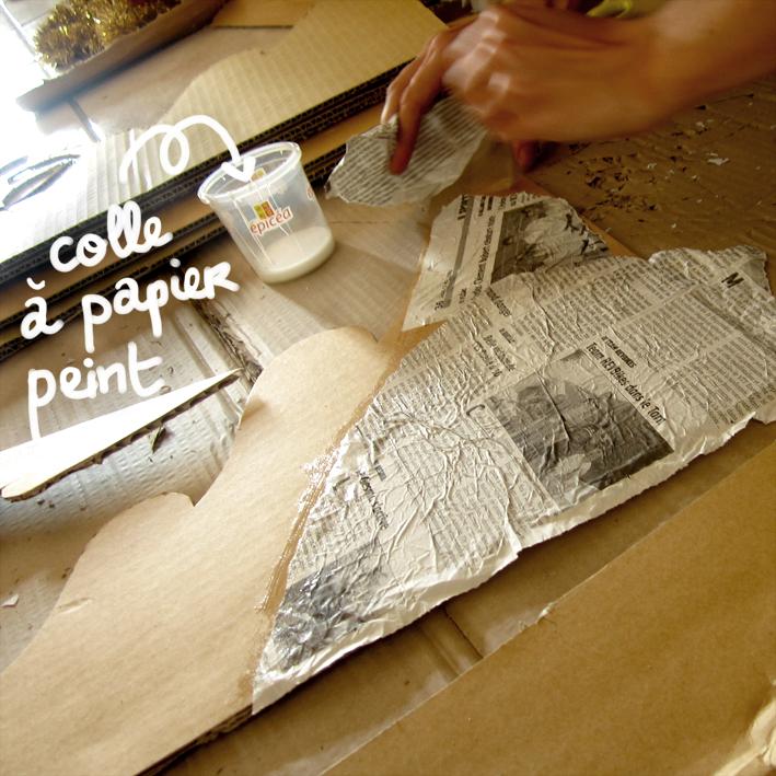 DIY sapin en carton - http://spicerabbits.blogspot.fr/