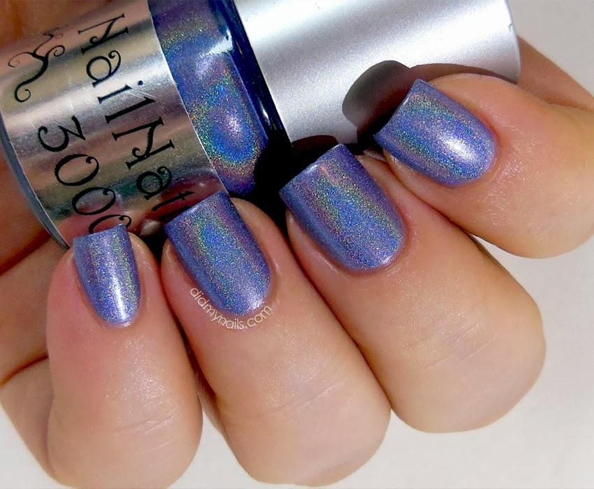 Did My Nails: NailNation 3000 Parma Violet
