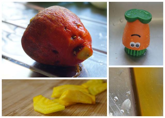 yellow beetroot - 'growourown.blogspot.com' ~ An allotment blog