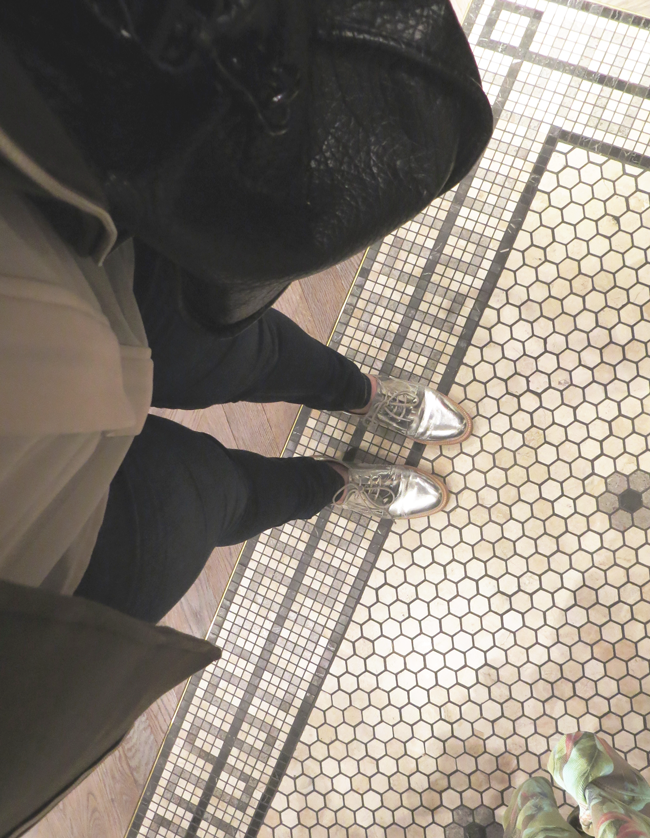 fromwhereistand, silver metallic shoes, zara schuhe silber