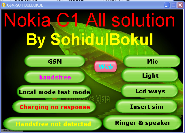 Solution Nokia Speaker Ringer Buzzer