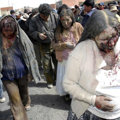 Linchamientos en Bolivia
