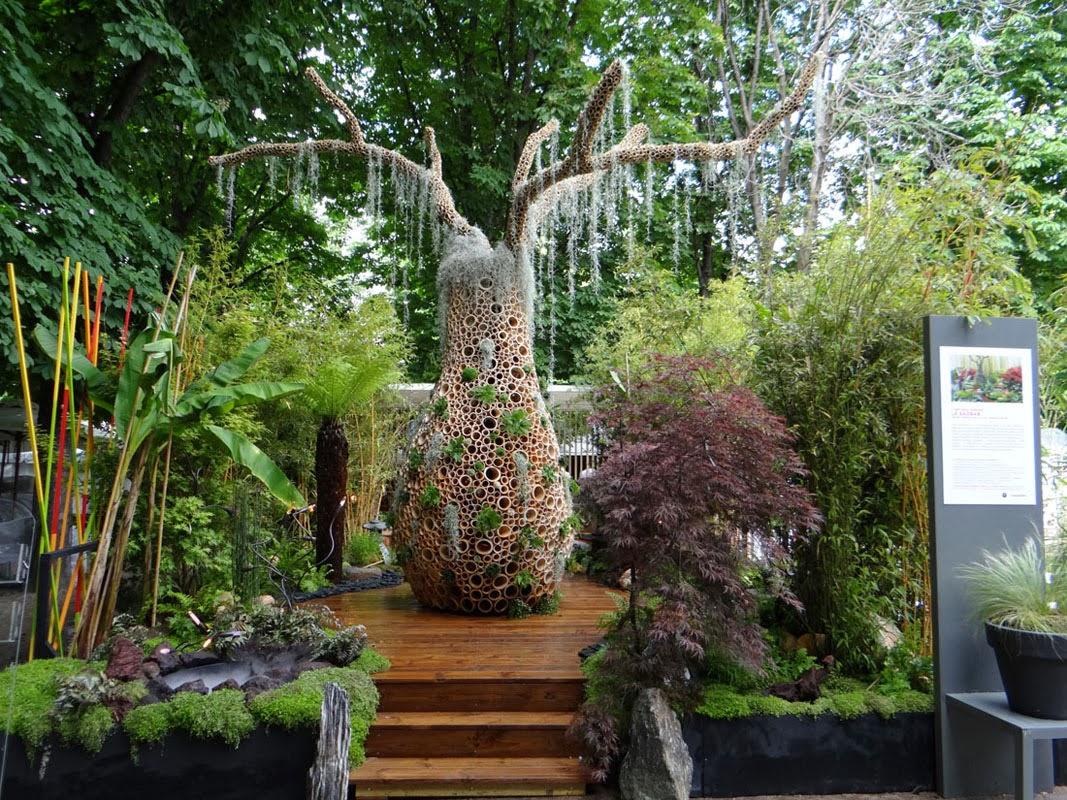 Paradis express les jardins de babylone for Mur vegetal suspendu