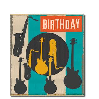 musical instruments birthday men's cards liz and pip ltd