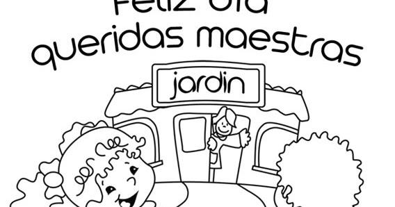 Dibujos para el Día del Maestro para colorear ~ Dibujos para Niños