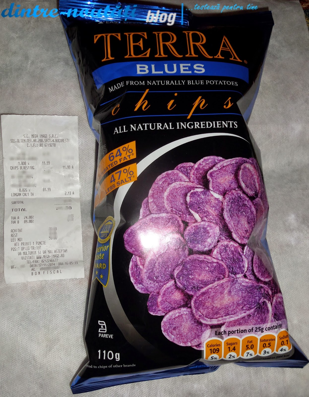 TERRA BLUES chips USA SUA