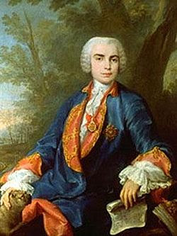 Farinelli (Carlo Broschi). (Andria 1705 - Bologne 1782)