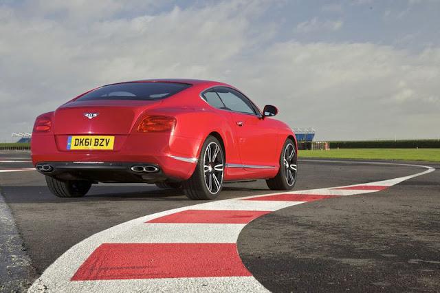 2013 Bentley Continental GT V8 Back Exterior