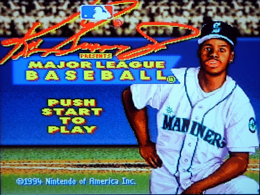 Ken Griffey Jr Presents Major League Baseball