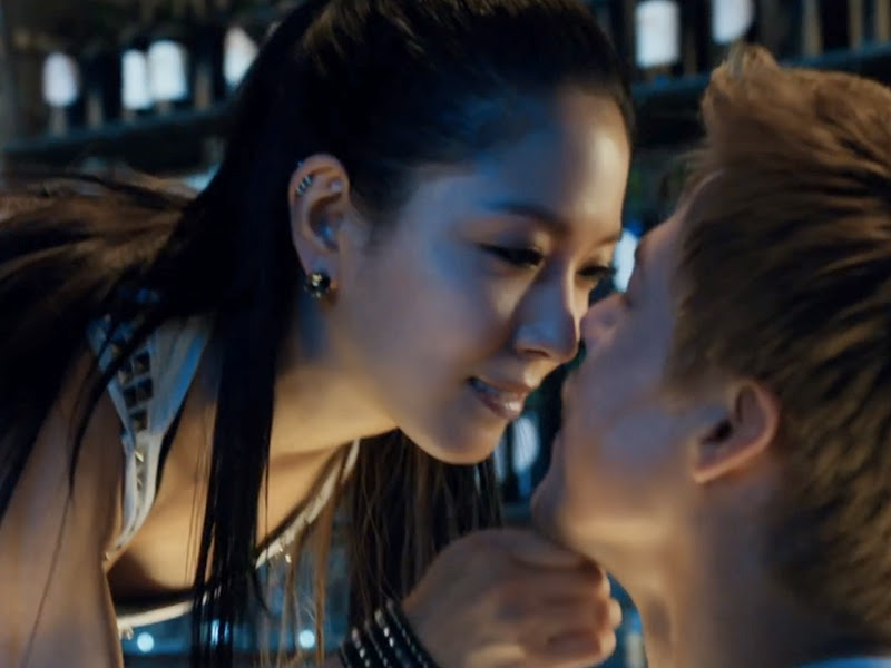 BoA and Derek Hough