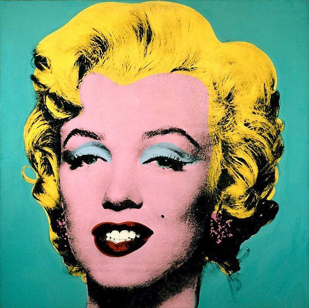 il ventaglio di piume: Marilyn ritratta da Andy Warhol