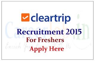 CleanTrip Hiring for freshers for post of Software Engineer