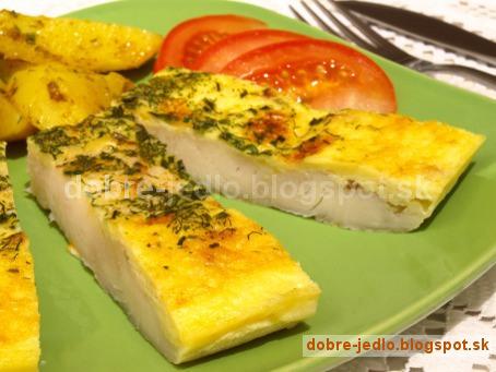 Zapekané rybie filé s cesnakom a syrom - recepty