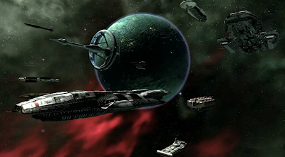 Battlestar Galactica Online Graphics