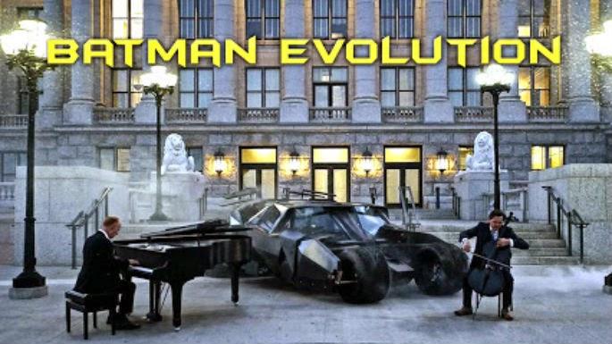 'La evolución de Batman'