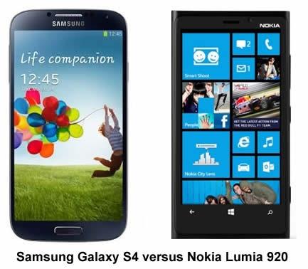 Gist Media: TECH HEAD REVIEW: Samsung Galaxy S4 v Nokia ...