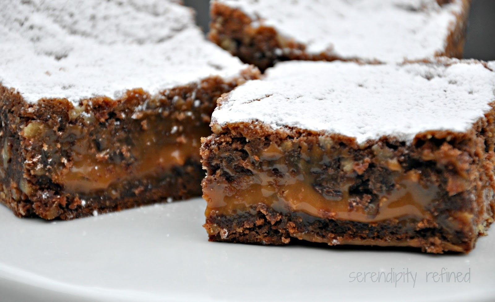 Knock You Naked Brownies: Easy Chocolate Caramel Recipe by Serendipity ...