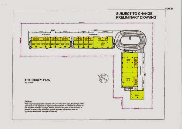 Loyang Enterprise Building Floor Plan
