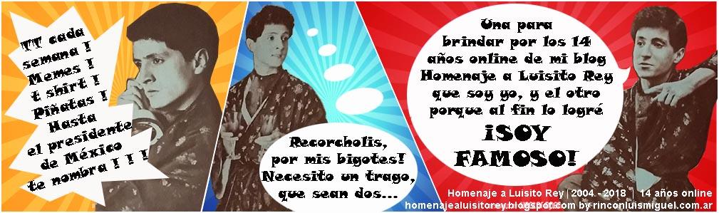 Homenaje a Luisito Rey