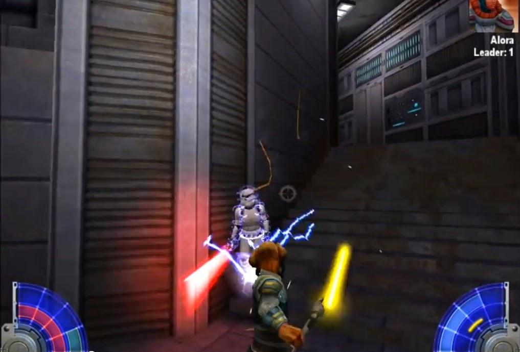Star Wars Jedi Academy Blitze