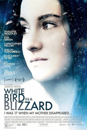 White Bird in a Blizzard 2014 poster