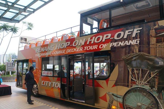 bas HOHO, Hop on hop off bas, penang hop on hop off, uniknya bas di pulau pinang,