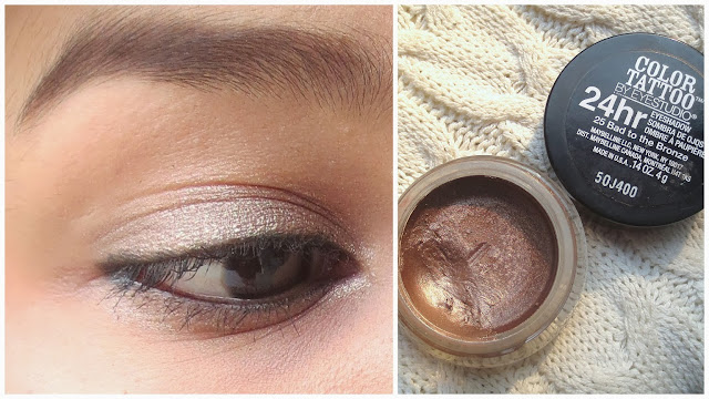 Maybelline Color Tattoo Bad to Bronze