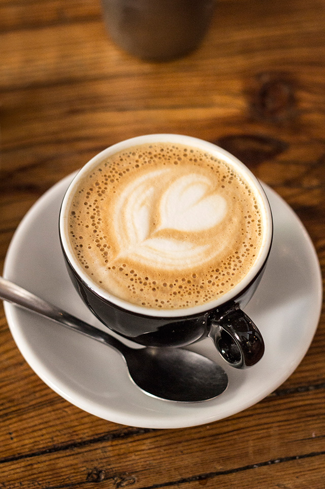 Cappuccino at Toma Café