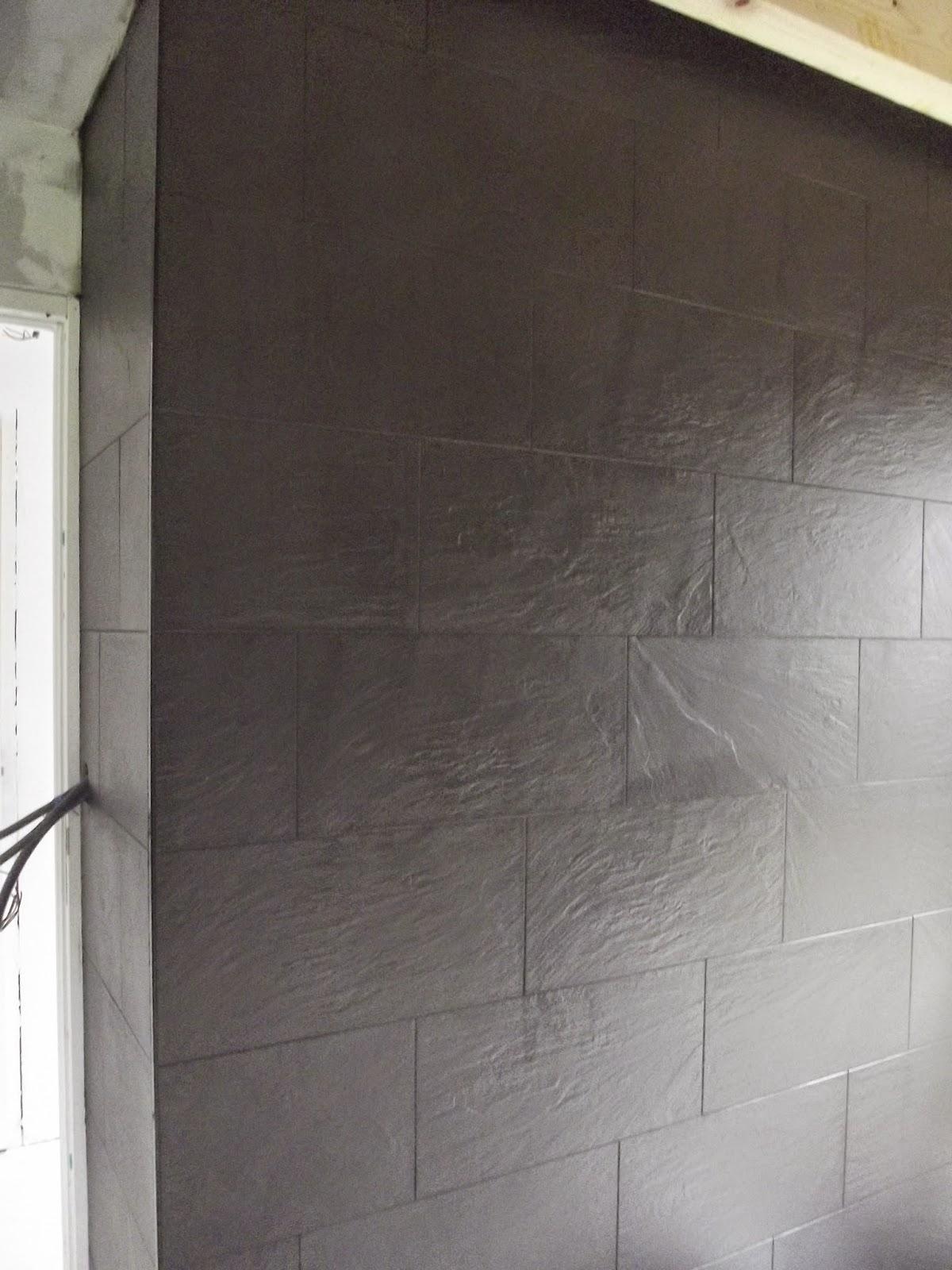Concept carrelage cr ation mur imitation ardoise for Imitation faience