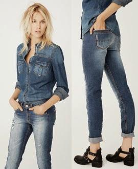 Suiteblanco jeans camisa vaquera otoño invierno 2014