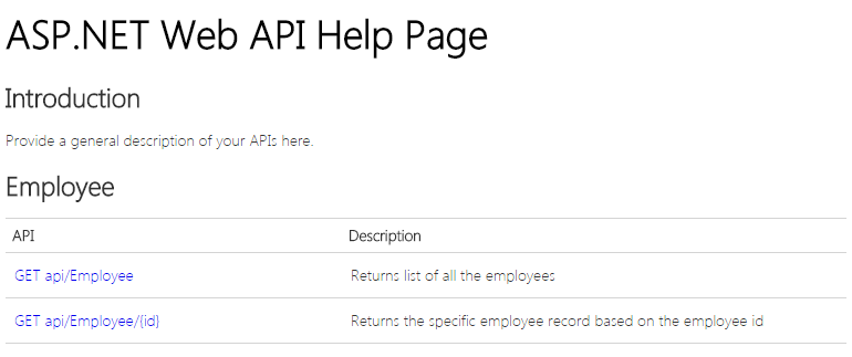 Output 2 of How To Create Help Pages For Asp.Net Web API