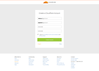 Cara Mengganti atau Setting Nameserver Dengan CDN CloudFlare