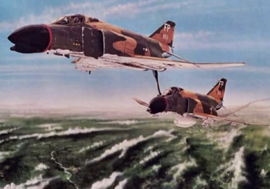 On The 10th Of March 1967 F 4 Phantoms 8th Tactical Fighter Wing 433rd Squadron Out Ubon Royal Thai Air Force Attacked A