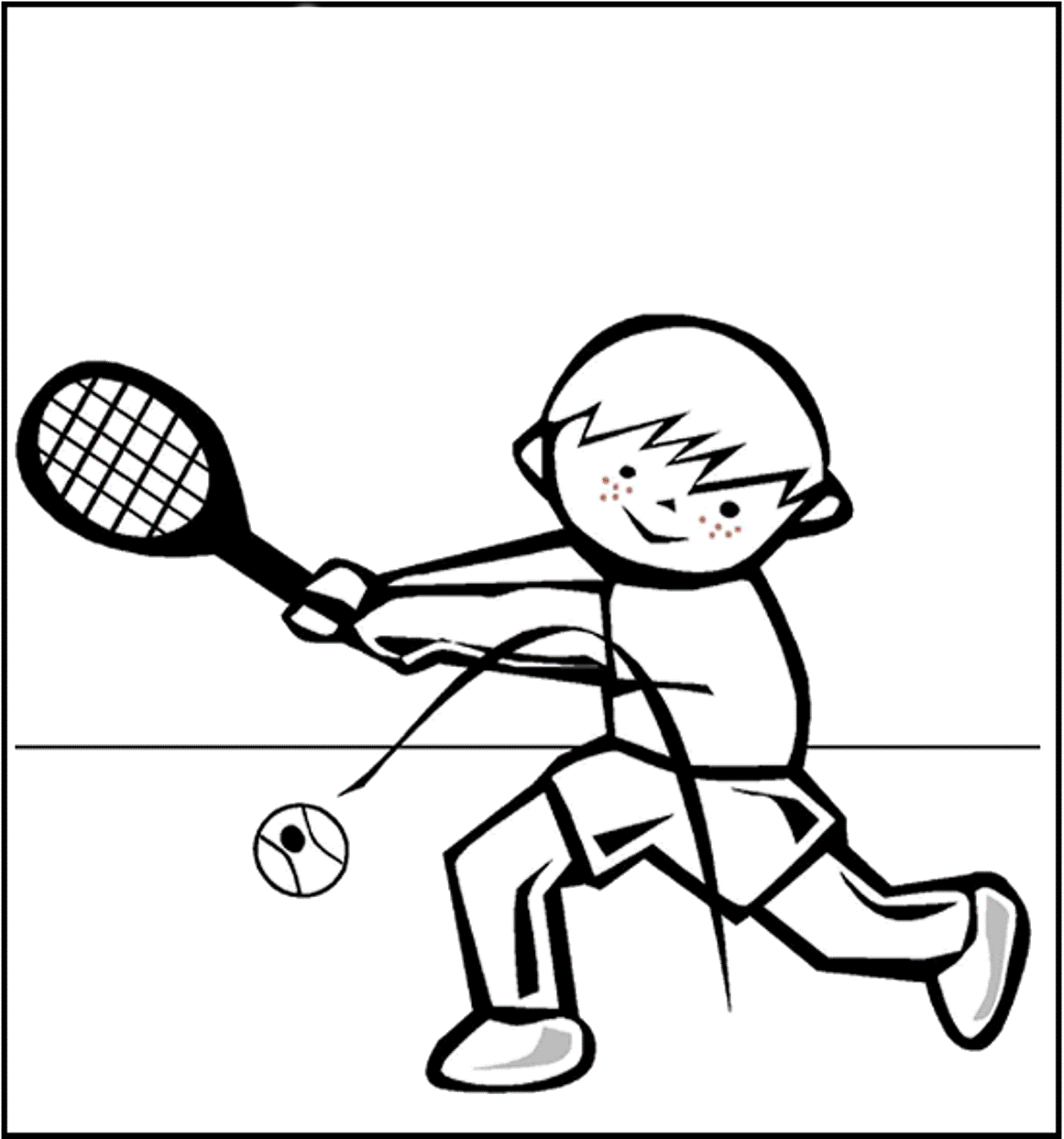 Sports Photograph Coloring Pages