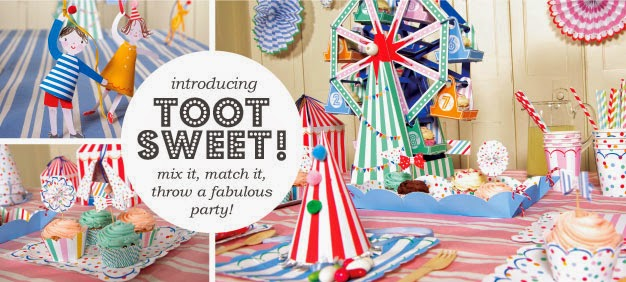 Toot Sweet Party Hats Birthday Party