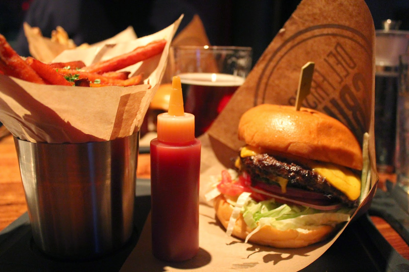 Burgers and Brews Combo at Del Frisco's Grille