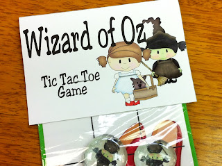 wizard of oz bag topper printable