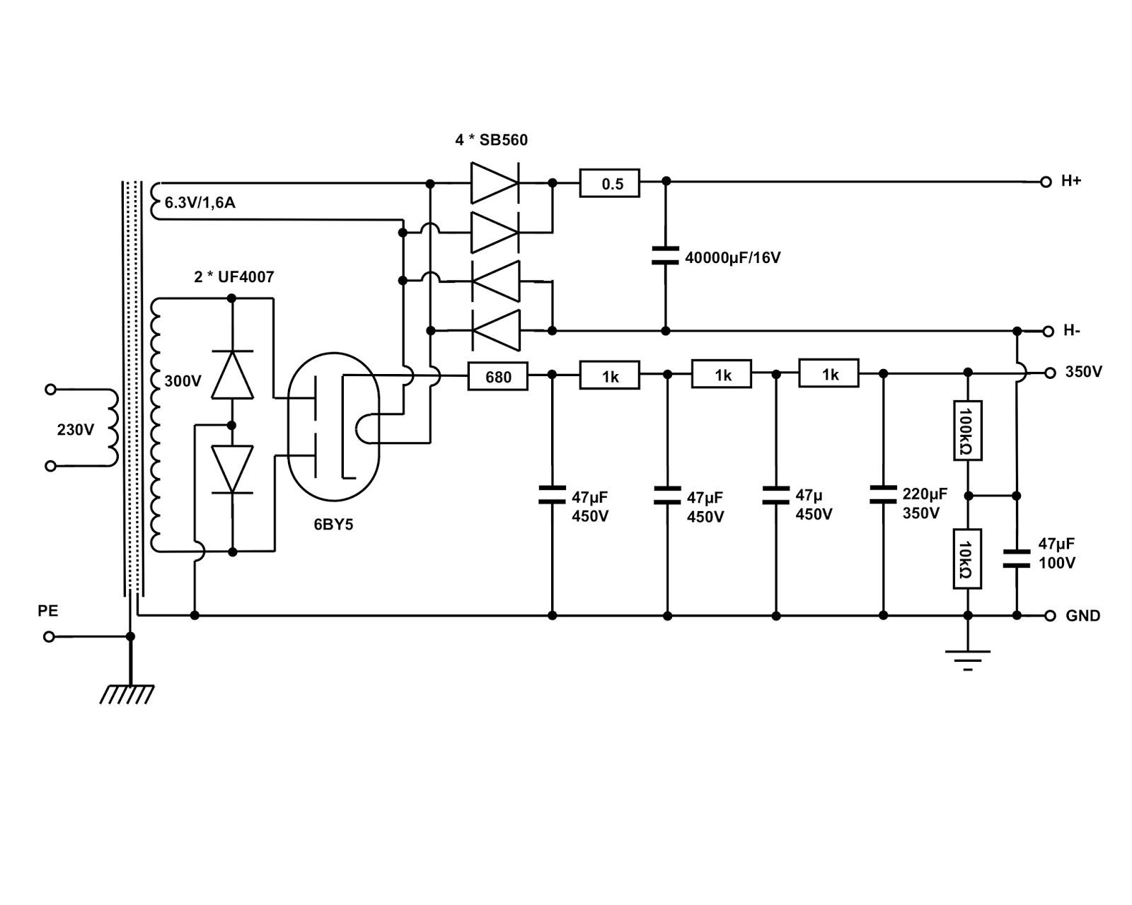 vinylsavor  the octal phono preamplifier  part 3   power