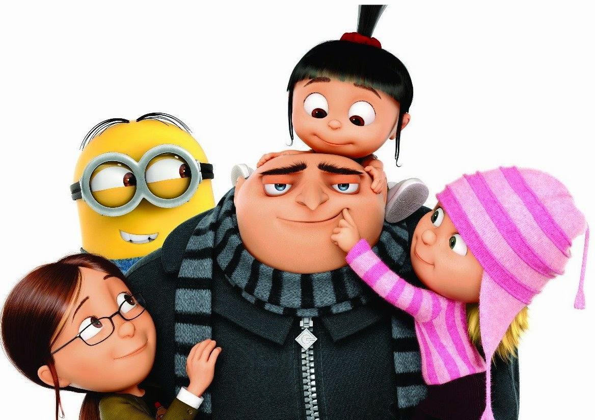 Personagens do filme Meu Malvado Favorito.