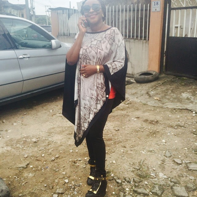 Ini Edo Steps Out In Style