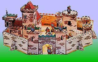 Castle Nottingham Papercraft - Robin Hood