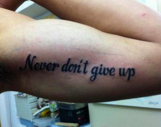 tattoo spelling fails