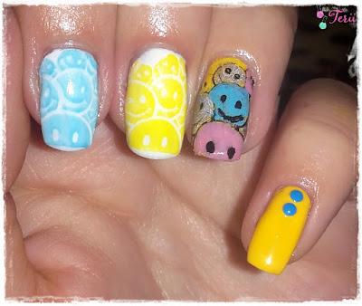 Blue Monday Nails
