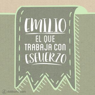 Significado de Emilio
