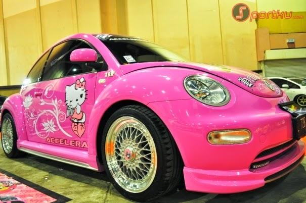 Modifikasi Mobil Volkswagen VW Pink