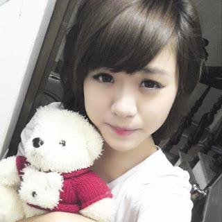 Nhung Doll mặt như búp bê,girldep.com