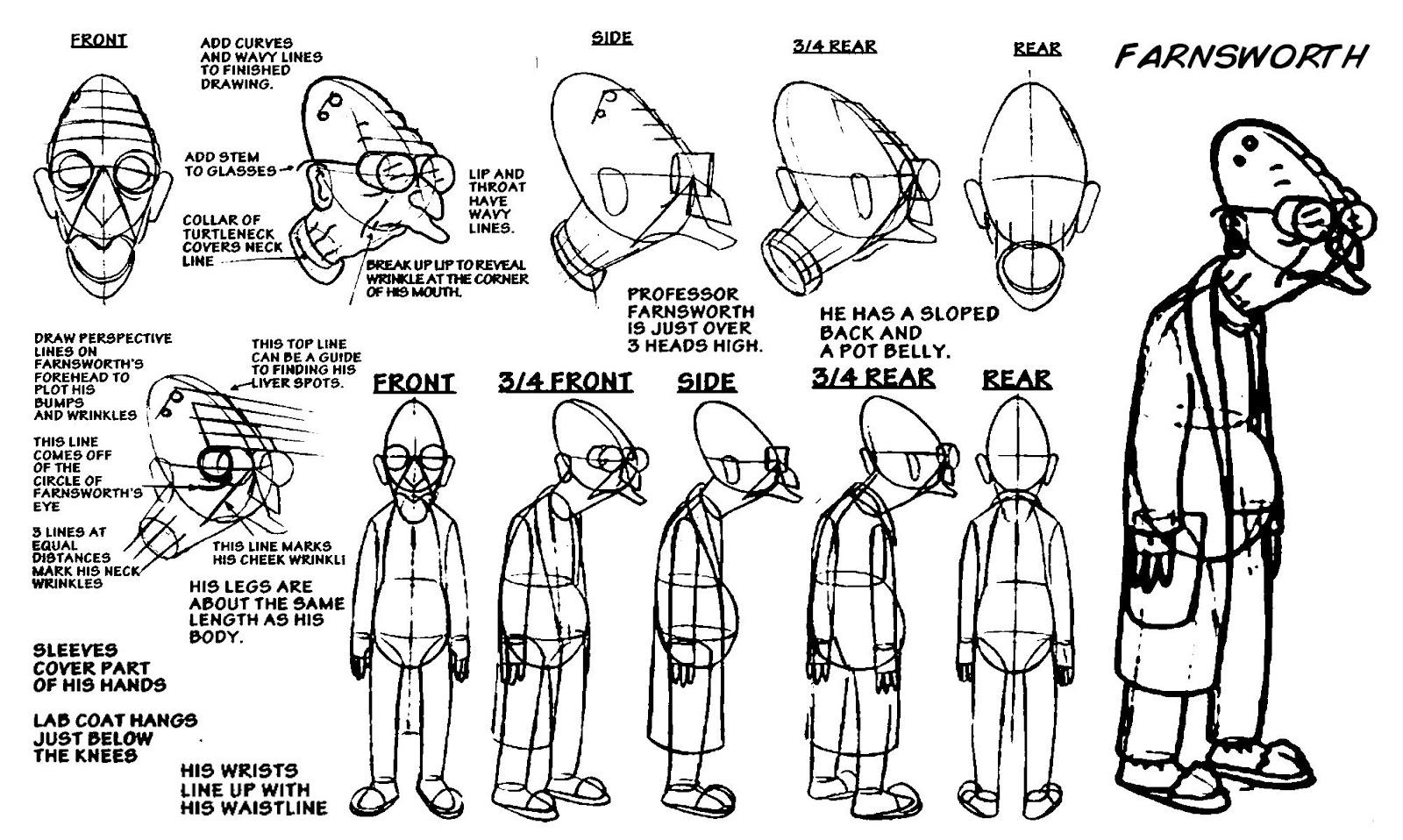 Character Design Description : Homework reminder