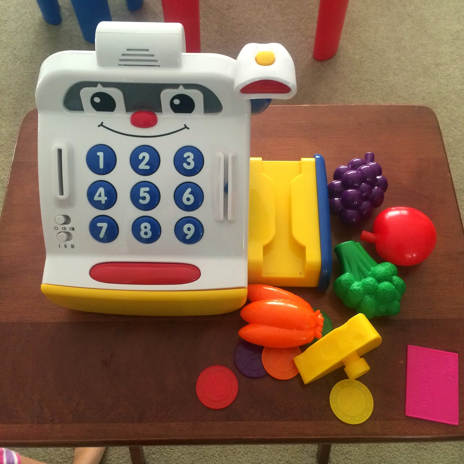 learn how to work a cash register