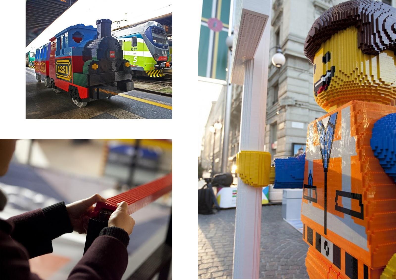 Lego mania a milano i mattoncini colorati s 39 impossessano for Design della moda milano